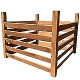 "Holz Kompostsilo""BIO"" - Komposter mit Zuganker"