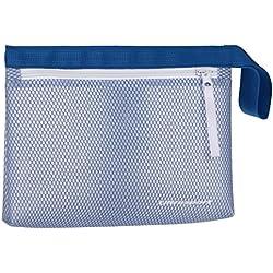 Ultrasport Neceser Impermeable para el Deporte o la natación Bolsa, Unisex Adulto, Azul, OS