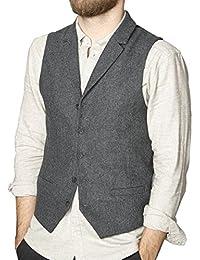 SUIT Ken-Waistcoat-su5133, Chaleco para Hombre