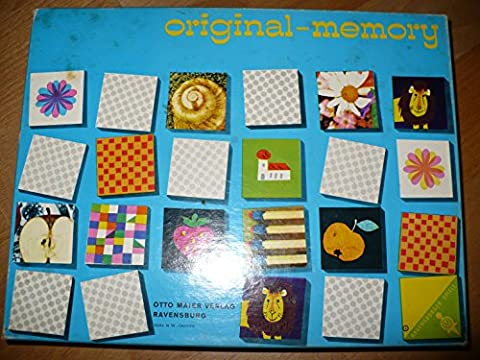 Original Memory von 1974 (Ravensburger)