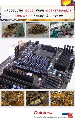 Motherboard-chip (Gold refining from computer motherboards (English Edition))