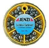 Lochblei - Sortiment - Jenzi - 120 Gramm - in praktischer Spenderdose