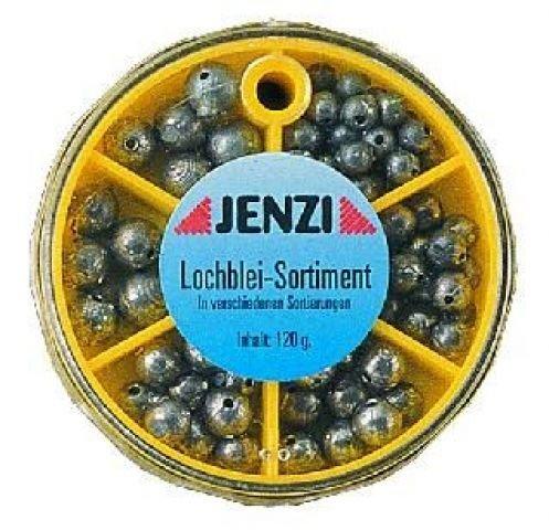 in Einer 6 Kammer Spenderdose Storfisk fishing /& more Lochblei Sortiment 120 Gramm 47 Bleie ca 0,8-7 Gr