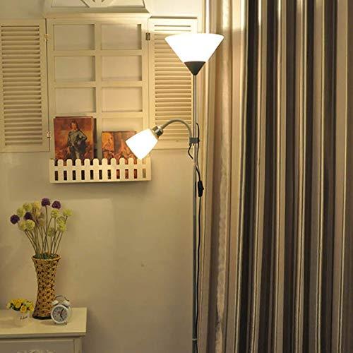 LAMPES À PLANCHER INTÉRIEUR ZXC YWXLight Lampadaire pliant en fer forgé (Couleur : Black)