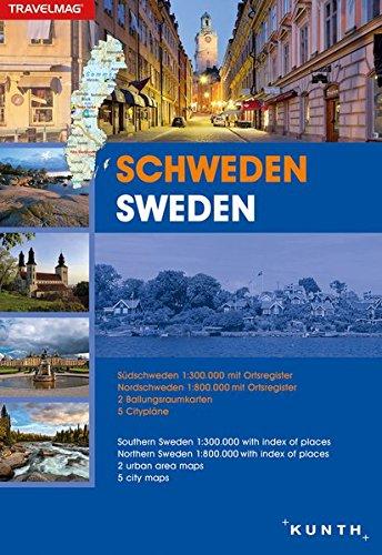Reiseatlas Schweden: 1:300.000/1:1.800.000 (KUNTH Reiseatlanten): Alle Infos bei Amazon