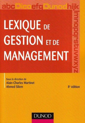 Lexique de gestion et de management
