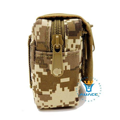 Multifunktions Survival Gear Tactical Beutel MOLLE POUCH Klettverschluss-Karte Tasche, Outdoor Camping Tragbare Travel Bags Handtaschen Werkzeug Taille Bag Handy Pouch DDC