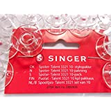 10Bobinas para máquina de coser Singer Talent Original + Tradition Curvy + Confidence