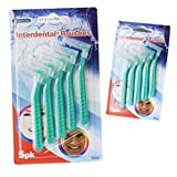 Suave Dental cepillo de dientes interdental oral hilo dental dientes encías placa Remover dentista