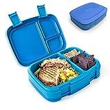 Bentgo Fresh - Auslaufsichere Lunchbox | Bento Box mit 4 Unterteilungen, Blau