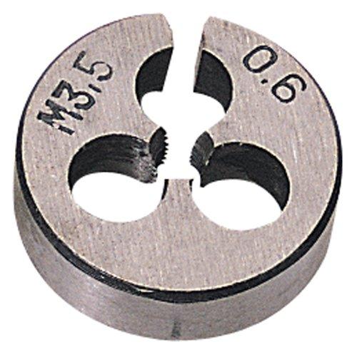 Draper 44905 Rundes Schneideisen 3,5 mm für 13/16-Zoll-Grobgewinde (20,6 mm Außendurchmesser)