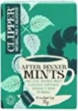 Clipper Organic Infusion After Dinner Mints Double Mint and Fennel Enveloped 20 Teabags 38 g (Pack of 6)