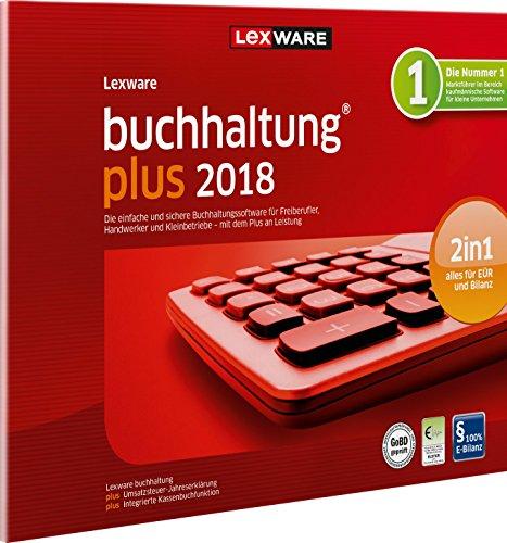 Lexware buchhaltung 2018 plus-Version in frustfreier Verpackung (Jahreslizenz) | Einfache Buchhaltungs-Software für Freiberufler, Handwerker & Vereine | Kompatibel mit Windows 7 oder aktueller
