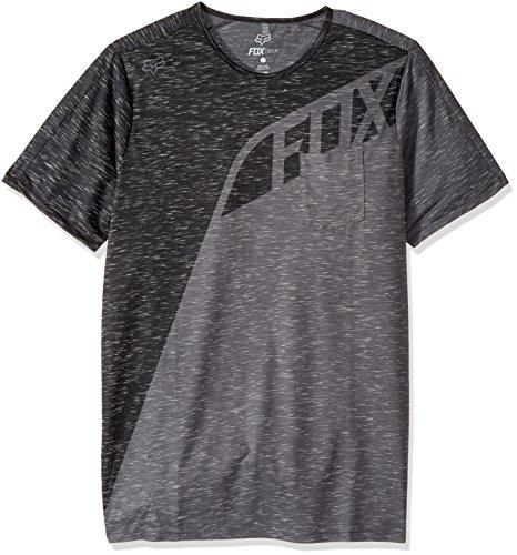 Fox Shirt Seca Grau Meliert Charcoal Heather