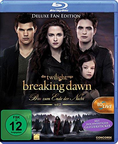 Breaking Dawn - Bis(s) zum Ende der Nacht Teil 2 [Blu-ray] [Deluxe Edition] (Twilight Blu Ray)
