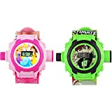 Princess & Ben 10 Projector Watches For Boys & Girls