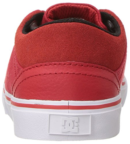 DC Trasé Slip T chaussures de garçon Red/White