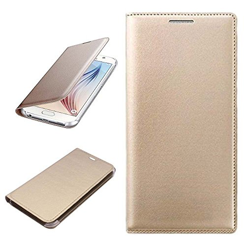 SAEMPIRE PU Leather Flip Case & Cover For Samsung Galaxy Grand 2  ( Gold,Black ) colours may vary  available at amazon for Rs.149