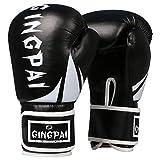 Faux Cuir Boxing Gloves,Gants de Boxe Professionnels, Gants pour Sacs de Sable pour...