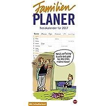 Butschkow Familienplaner - Kalender 2017
