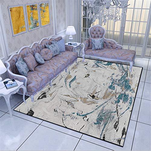 Teppich für nordische abstrakte Bodenmatte Wohnzimmer modernen minimalistischen europäischen Couchtisch Teppich Schlafzimmer Nacht Zimmer schmutzig waschbar