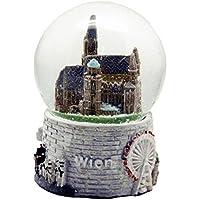 30063Souvenir bola de nieve Viena Austria Step Hans dom 65mm de diámetro