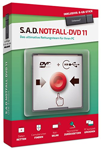 Notfall-DVD 11|Notfall DVD 11|beliebig|Lifetime|PC - Laptop - Netbook|Disc|Disc (Windows Boot)