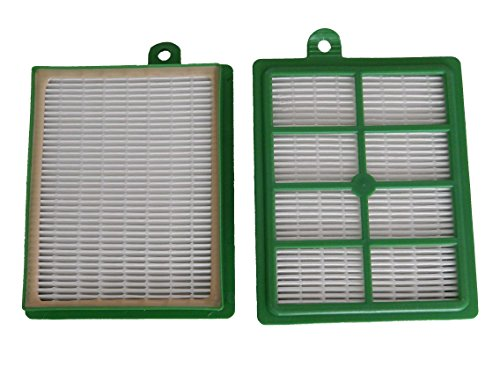 vhbw Ersatz Hepa Allergie Filter Set Philips Performer FC9110/09 Specialist Animal, FC9150/01, FC9150/02, FC9184/01 wie AEF 12, H12. (Hepa-ersatz-filter)