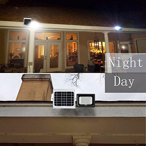 Solarleuchten CLY 60 LED Solar Strahler Garten Solar Fluter Außen  Solarlampe Flutlicht Für Außenbeleuchtung IP66 Wasserdicht ...