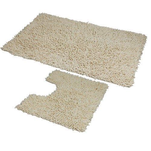 jvl-coral-zweiteiliges-badvorleger-set-50x80-und-50x40-cm-maschinenwaschbar-cremefarben