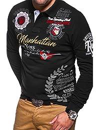 MT Styles T-shirt à manches longues MANHATTAN homme MP-453