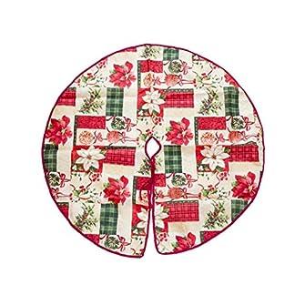 90 Falda del árbol Cm Feliz Navidad árbol De Navidad Falda para Decoración Festivo De La Decoración De Forma De Bola De Navidad