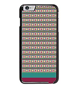 PrintDhaba Tribal pattern D-1887 Back Case Cover for APPLE IPHONE 6 PLUS (Multi-Coloured)