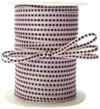 May Arts 1/8-Inch Wide Ribbon, Pink with...
