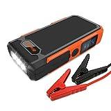 800A Spitzenstrom 18000mAh Jackery Spark Tragbare Auto-Starthilfe Autobatterie Externer Akku mit LCD...