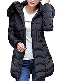 fbd67b682ed HOMEBABY Womens Winter Cotton Down Padded Coat Lightweight