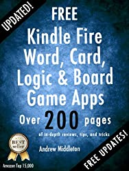 Free Kindle Fire Word, Card, Logic, And Board Game Apps (Free Kindle Fire Apps That Don't Suck Book 9) (English Edition)