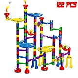 Marble Run Toy ,DIY Building Blocks Marble Runs Coaster Railway Construction Marble Game,for Boys&Girls