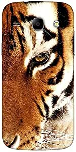 Snoogg Tiger 22 Solid Snap On - Back Cover All Around Protection For Samsung ...