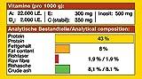 JBL Alleinfutter für fleischfressende Aquarienfische, Tabletten 100 ml, NovoTab 30230