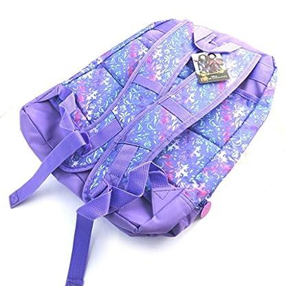 Doble mochila 'Descendants'púrpura (40x34x18 cm).