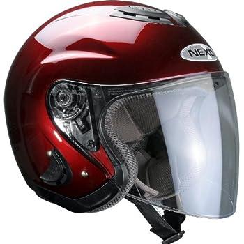 Nexo Motorradhelm Jethelm Travel Bordeaux 3XL
