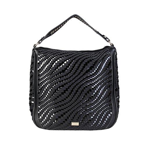 Cavalli Class - Sac porté épaule pour femme (C41PWCBU0022_999-BLACK) - Noir
