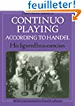 Continuo Playing According to Handel:...