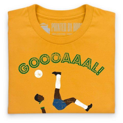Goal Brazil T-Shirt, Herren Gelb