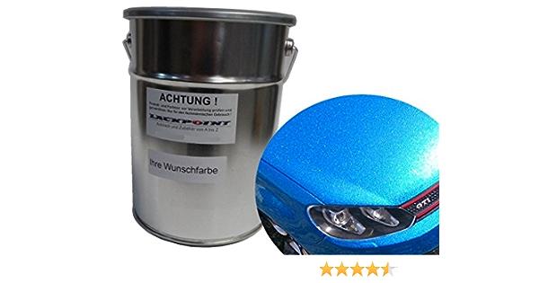 Lackpoint 0 5 Liter Spritzfertigen Basislack Candy Blau Metallic Autolack Auto