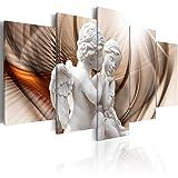 murando - Bilder 200x100 cm - Leinwandbilder - Fertig Aufgespannt - Vlies Leinwand - 5 Teilig - Wandbilder XXL - Kunstdrucke - Wandbild - Abstrakt Engel h-C-0009-b-m
