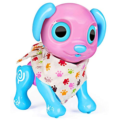 Aomeiqi Electronic Pet Dog Interactive Puppy, Robot Dog Toys for Kids Responds to Touching, Voice and Fun Activities Gifts Idea for Boys Girls