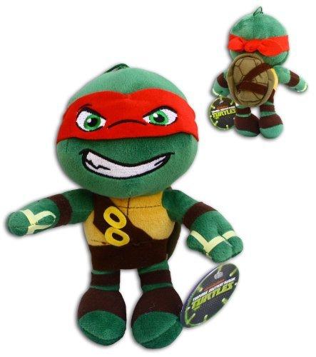 oft Plüsch Schildkröten Rot TMNT Half Shell Heroes Comicserie Teenage Mutant Ninja Turtles Turtler Spielzeug Figur Hero (12 Ninja Turtles Figuren)