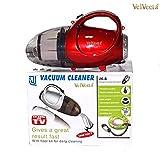 VelVeeta Hard Plastic New Vacuum Cleaner Blowing and Sucking Dual Purpose (JK-8), 220-240 V, 50 HZ, 1000 W (364 HVC, Red)
